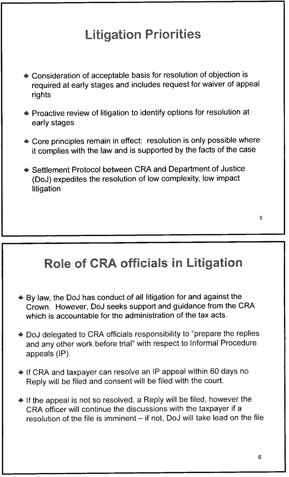 how to pay cra appeal